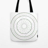 Anime Magic Circle 4 Tote Bag