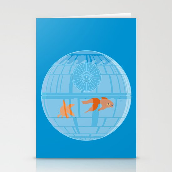 Empire Fish Bowl Stationery Card
