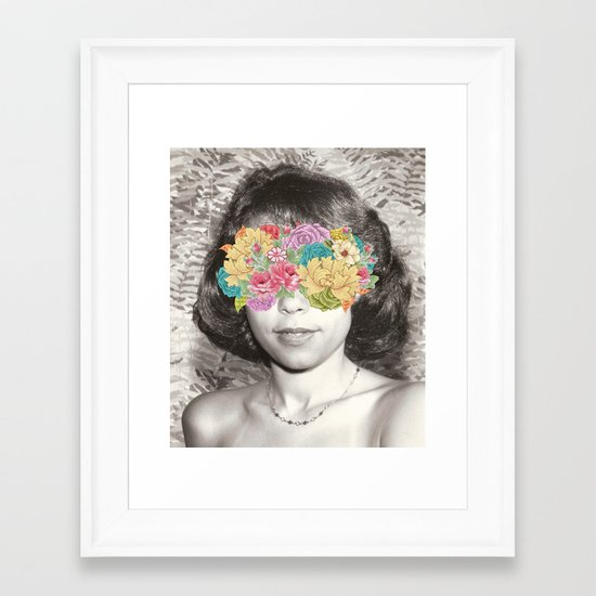 Her Point Of View Framed Art Print