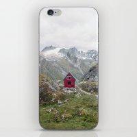 Mint Hut iPhone & iPod Skin