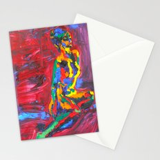 Colorful Nude Stationery Cards
