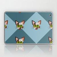 Repeating Calico Pattern Laptop & iPad Skin
