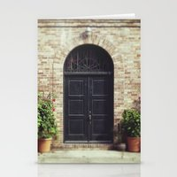 Courtyard Door Stationery Cards