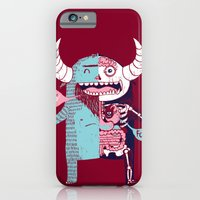 iPhone & iPod Case featuring All Monsters are the Same by Marco Angeles