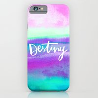iPhone & iPod Case featuring Destiny [Collaboration with Jacqueline Maldonado] by Galaxy Eyes