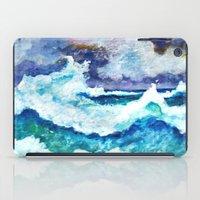Stormy Sea iPad Case