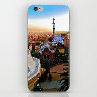 Barcelona - Gaudí's Park Güell iPhone & iPod Skin
