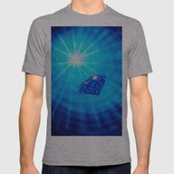 Blue Diamond Mens Fitted Tee Athletic Grey SMALL