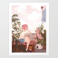 Mona Art Print