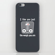 Through Thick and Thin iPhone & iPod Skin