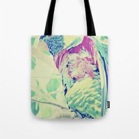 Colorful Bird Dreams  Tote Bag