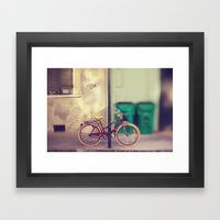 New Orleans Bicycle Framed Art Print