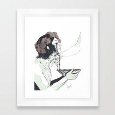 Act of Devotion Framed Art Print