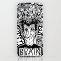 iPhone & iPod Case featuring Brain Damage  by  Grotesquer