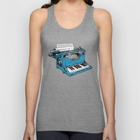 The Composition. Unisex Tank Top