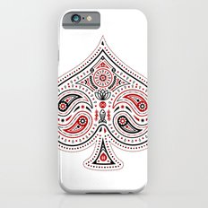 83 Drops - Spades (Red & Black) iPhone 6 Slim Case