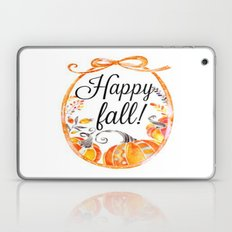 Happy Fall Laptop & iPad Skin