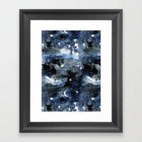 Twilight Night Sky Framed Art Print