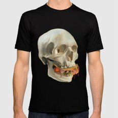 Death By Taco Mens Fitted Tee Black SMALL