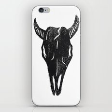 Stamped Skull iPhone & iPod Skin