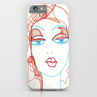 Girl Sketch iPhone 6 Slim Case