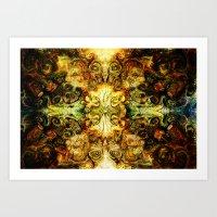 Fibonacci 3 Art Print