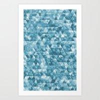 Chilled Ice Art Print