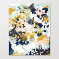 Sloane - Abstract Painti… Canvas Print