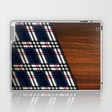 Wooden Scottish Tartan Laptop & iPad Skin