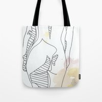 Watercolor Three Tote Bag