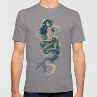 Sirena Mens Fitted Tee Tri-Grey SMALL