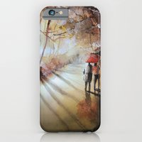 Break in the clouds - watercolor iPhone 6 Slim Case