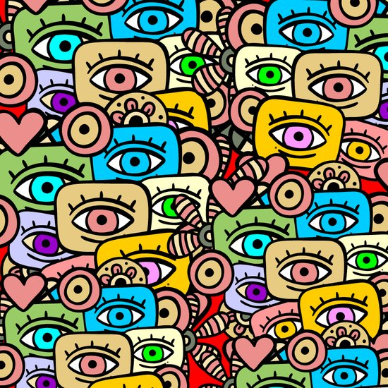ALL EYES ON YOU Art Print