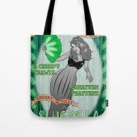 Slug Lady Tote Bag
