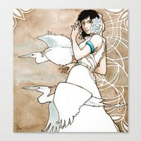 The Messengers Canvas Print