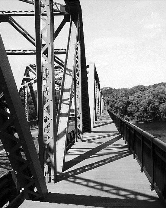 Delaware Bridge Art Print