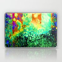 splattering a digital copy Laptop & iPad Skin