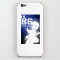 I'm B6 I Pick Up Sticks … iPhone & iPod Skin