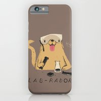 iPhone Cases featuring lab-rador by Louis Roskosch