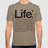 Life.* Available For A L… Mens Fitted Tee Tri-Coffee SMALL