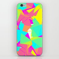Abstract Rainbow iPhone & iPod Skin