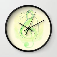 Color, Shape And Sound Wall Clock