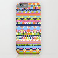 iPhone & iPod Case featuring Summer Doodle by emain