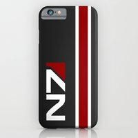 iPhone Cases featuring Mass Effect - N7 Hardcase by Dustin Dailey