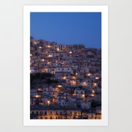 Blue Hour Art Print