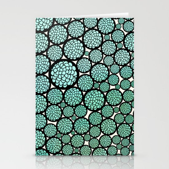 Blooming Trees Stationery Card