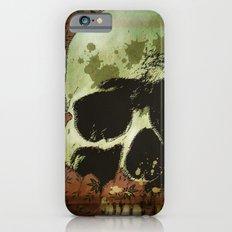 floral skull iPhone 6s Slim Case