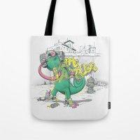 Urban Chameleon  Tote Bag