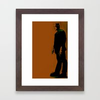 The Monster Is Loose! Framed Art Print