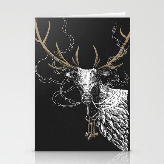 Oh Deer! Light version Stationery Card